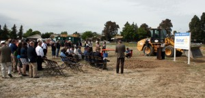 Walmart groundbreaking ceremony