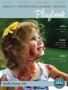 Cover for Winter Spring 2018 recreation play book