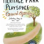 Heritage Park Playspace Grand Opening