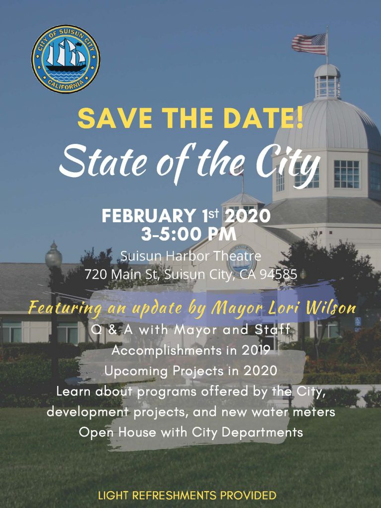 Suisun To Give State Of The City Address Suisun City Ca Patch
