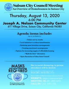 Flyer with meeting information also outlined on this page.